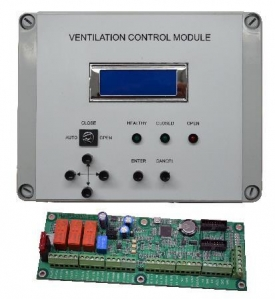 Digital Ventilation Control Panel