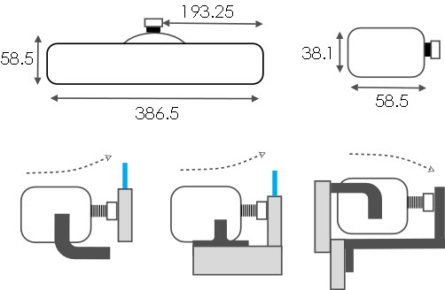 KS30/40 Dimensions