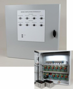 Multi Zone Smoke Control Panel