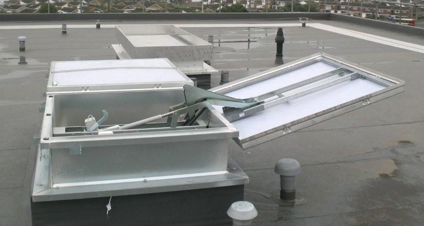 Smoke Ventilation Systems Automatic Smoke Vents Aov