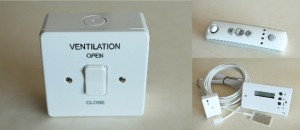 Ventilation Switch Remote and Temperature