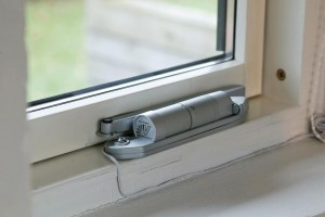 Window Opener In Closed Position