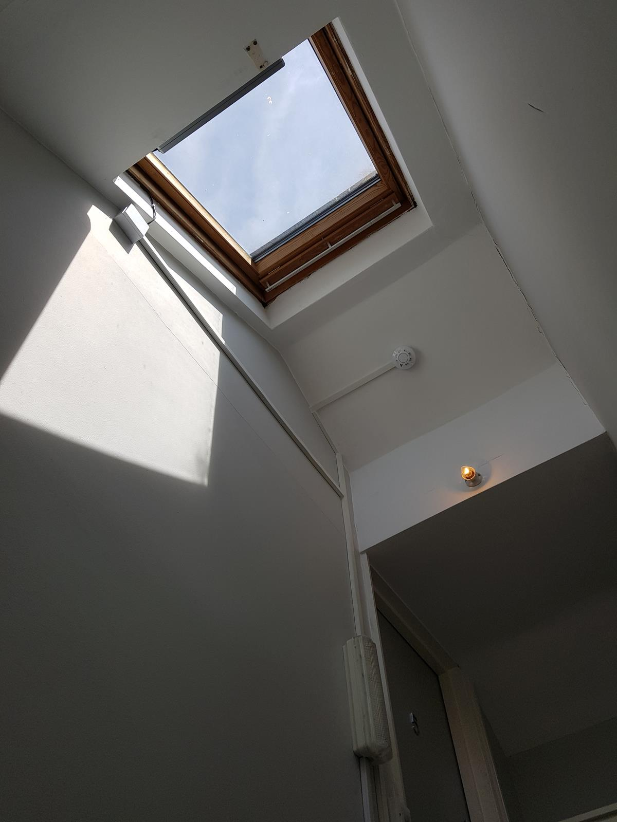 Kato 350 on Velux Window for Smoke Ventilation