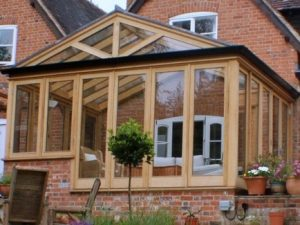Timber Frame Conservatory Window Opener