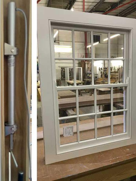 Hidden Sliding Sash Window Openers