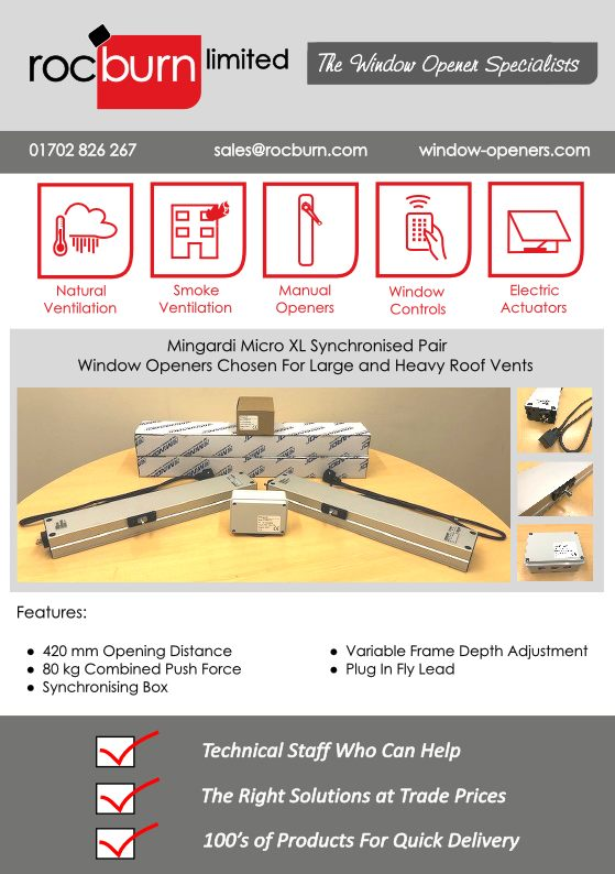 Window Openers For Large Roof Vents