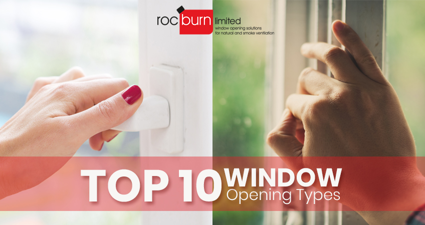 Top 10 Window Opening Types