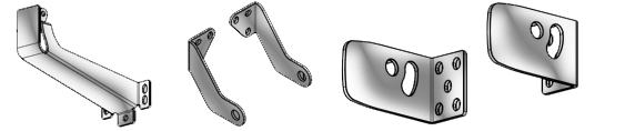 Topp C160 Bracket fittings