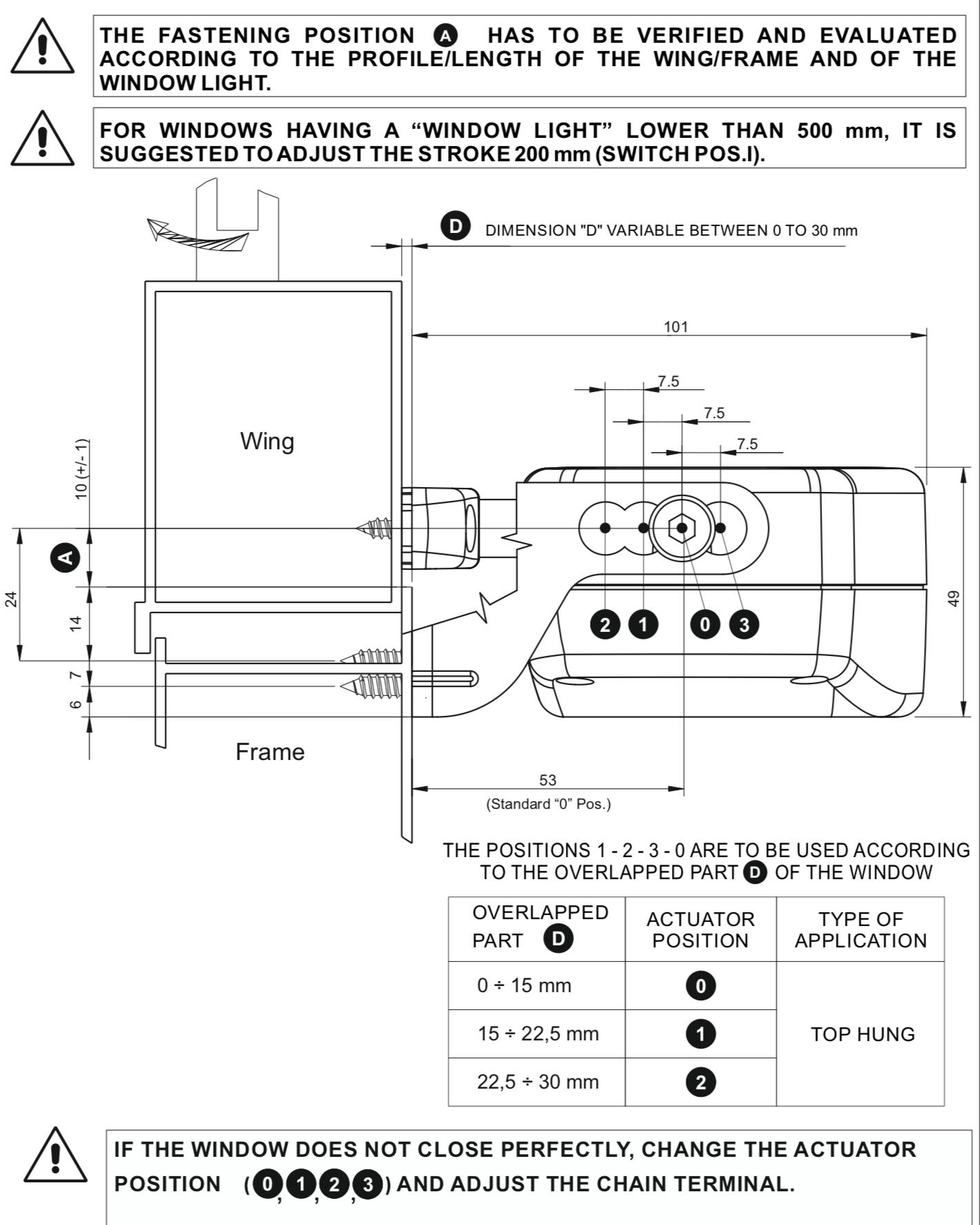 Installing instructions for Topp C30 Opener