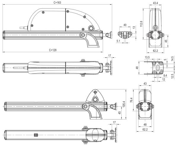 Nekos SKYRO 850 details