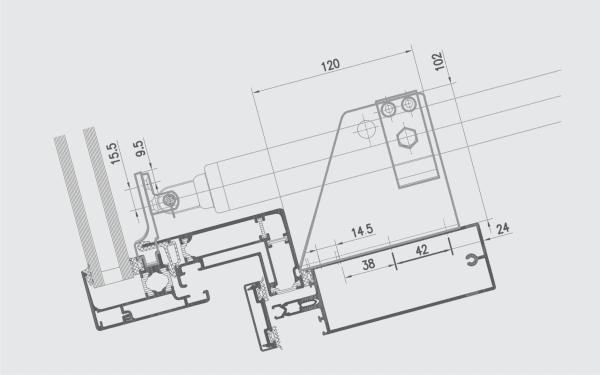 WMS 309-n Installation diagram