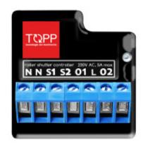 Topp control unit WIFI shutterbox
