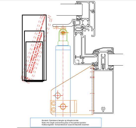 wms 309-n Actuator diagram