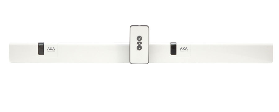 Window opener (2x) with remote control AXA Remote 2.0 Synchronous