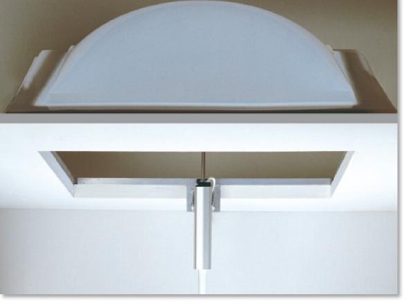 Mingardi-D4-actuator opening a dome window